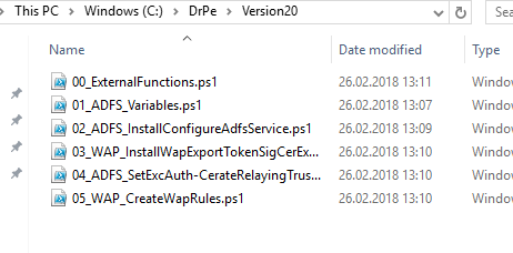 Automated ADFS setup - with WAP roles for Exchange and Skype
