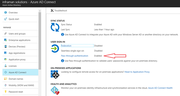 Azure Active Directory Pass-through Authentication | MSB365