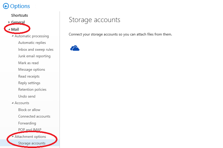 Outlook Web App supports now third party storage | MSB365