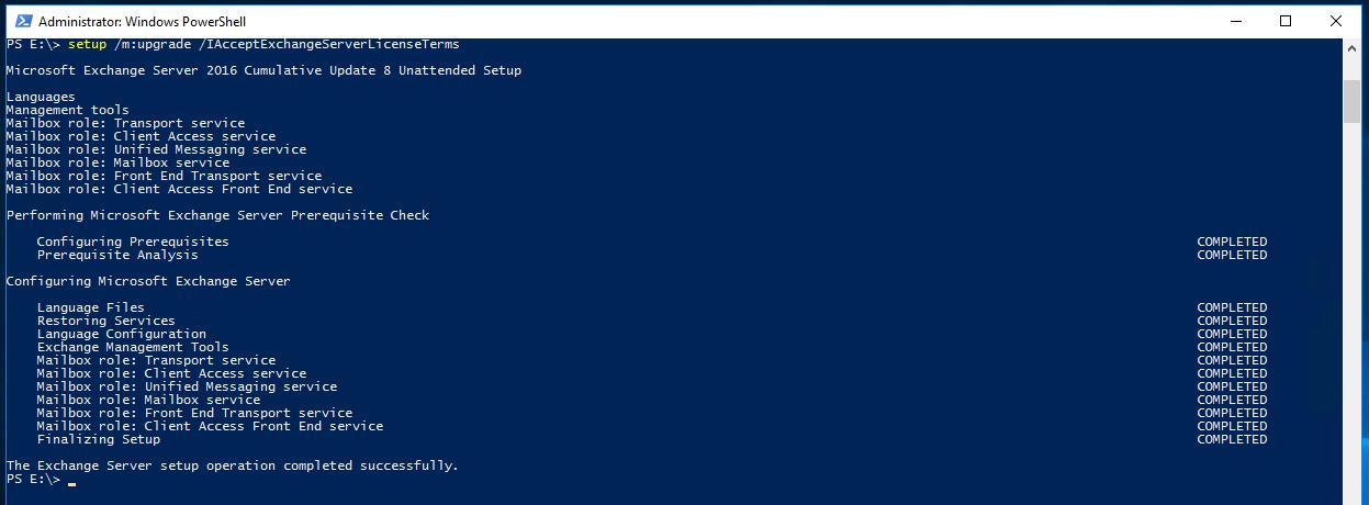 Error by installing Exchange CU (Event 1002) | MSB365