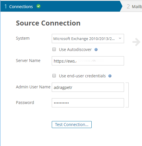Migrating on-premise Mailboxes to Office 365 by using Quest