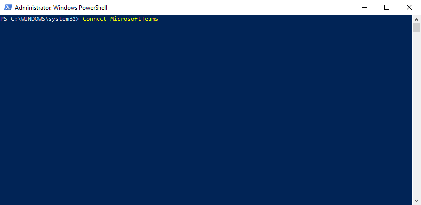 Microsoft has finally released a new Teams PowerShell Module